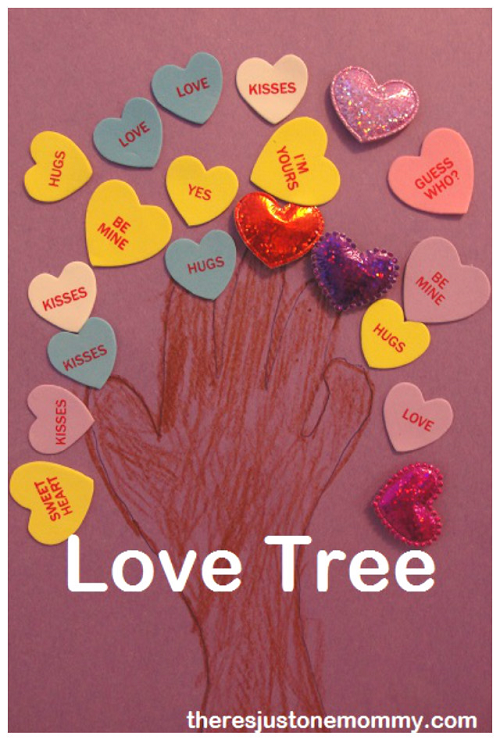 Love Tree -- simple Valentine's Day craft