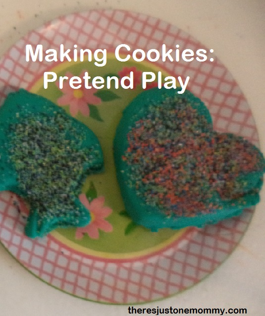 Pretend Play: Making Cookies via There's Just One Mommy
