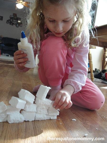 styrofoam building