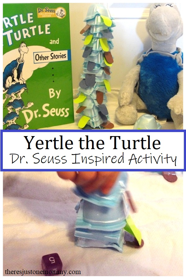 activity and craft for Yertle the Turtle