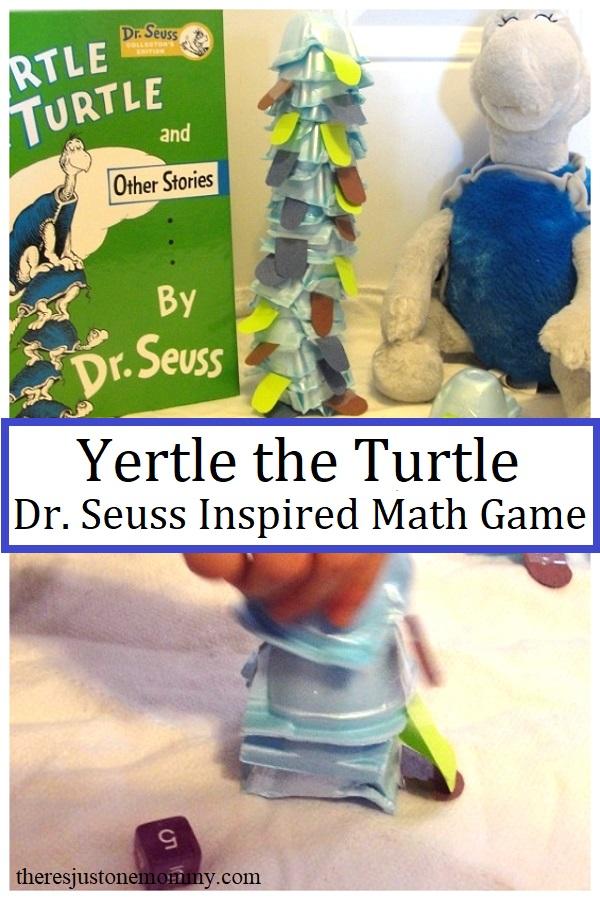 Dr. Seuss Yertle the Turtle activity