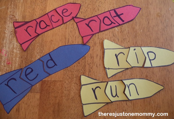 paper rocket word puzzles