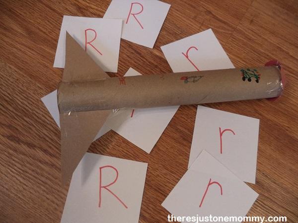 preschool letter R activity