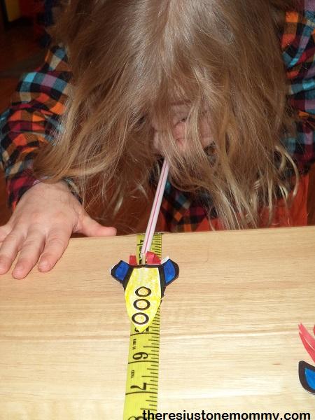 straw rocket races