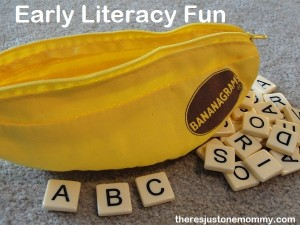 Early Literacy Fun with Bananagrams