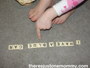 early literacy game