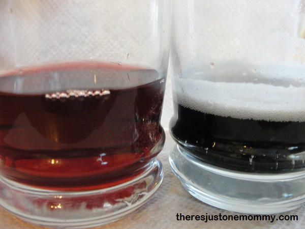 making grape juice change colors