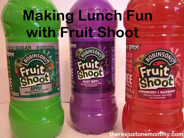 Robinsons' Fruit Shoot drink review via There's Just One Mommy