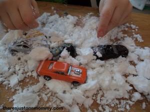 Ivory soap snow