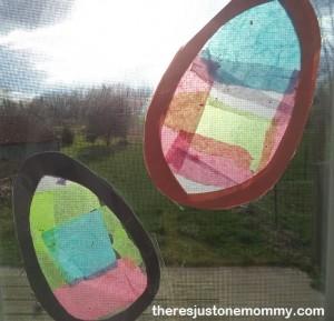 Easter Sun Catcher craft