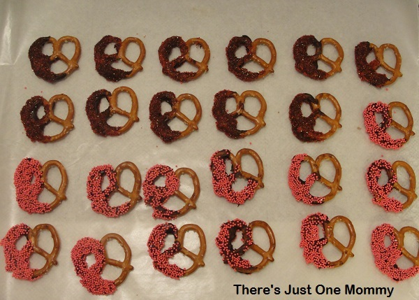 homemade candied pretzels