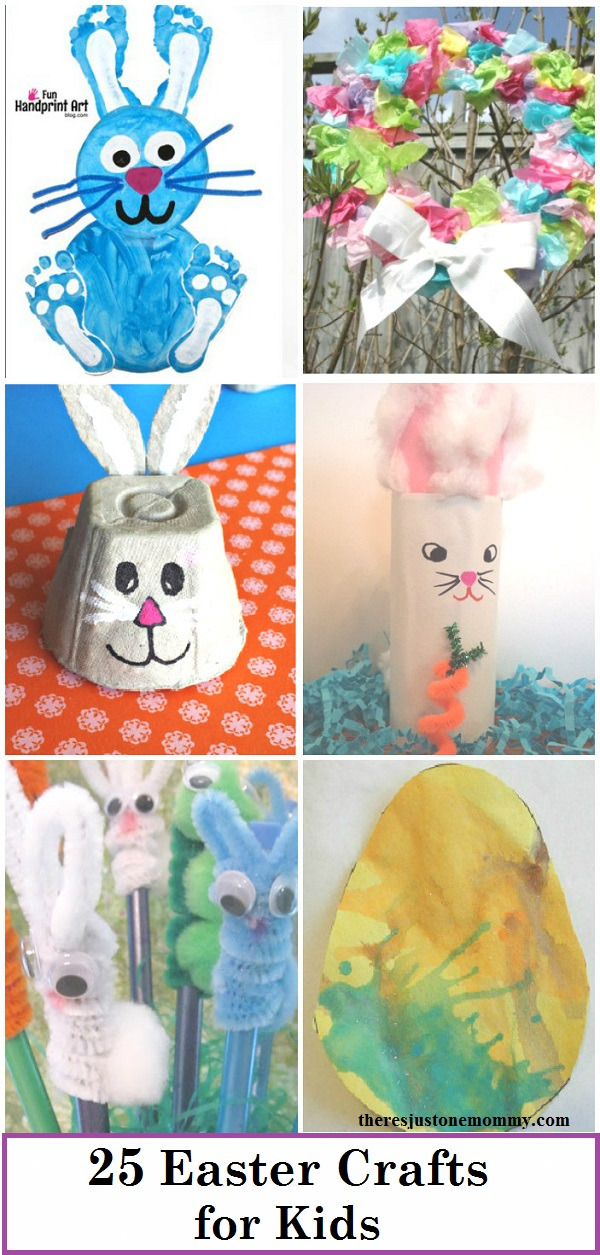 kids Easter crafts: 25 fun Easter crafts for kids