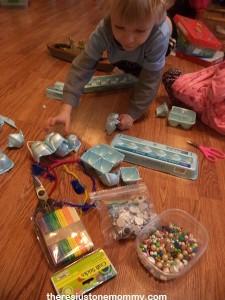 creating egg carton sculptures
