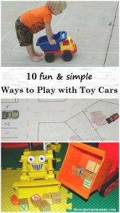 10 fun and simple ways to play and learn with toy cars