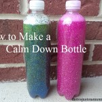 how to make a calm down bottle