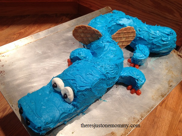 how to make a dragon birthday cake