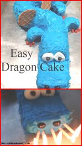 DIY dragon cake: how to make a dragon cake for a dragon birthday party