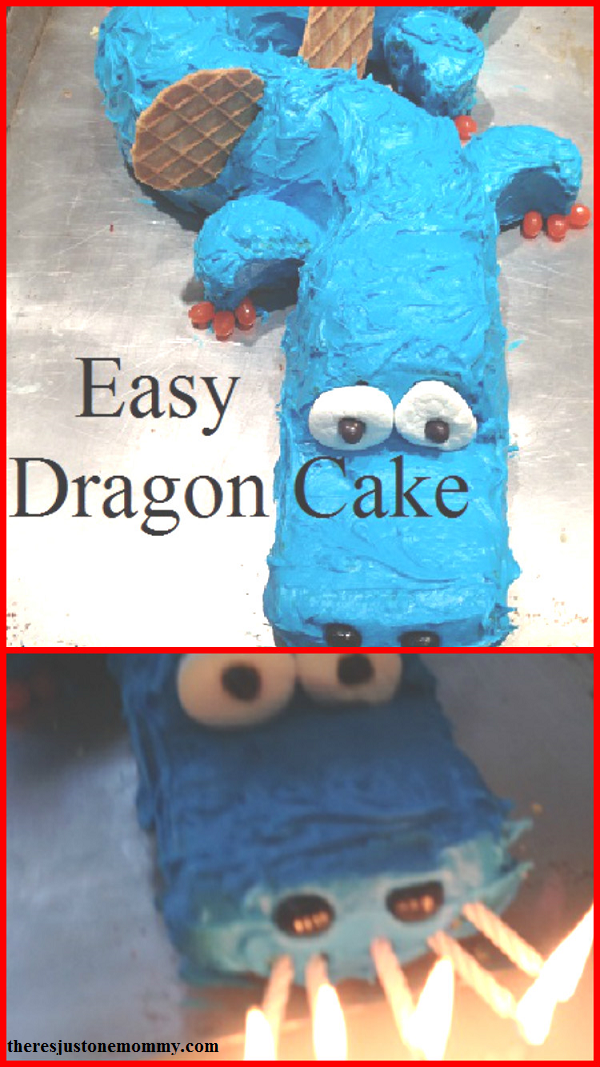 DIY dragon cake: how to make a dragon cake for a dragon birthday party