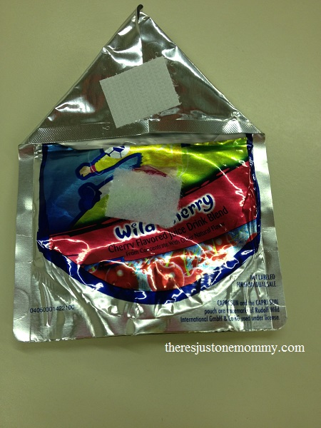 drink pouch change purse craft