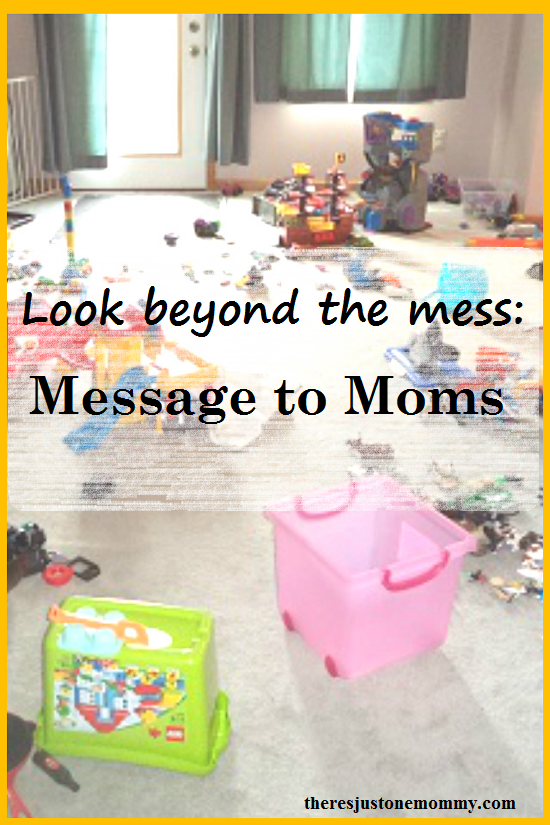 a message to moms -- you are doing a good job!