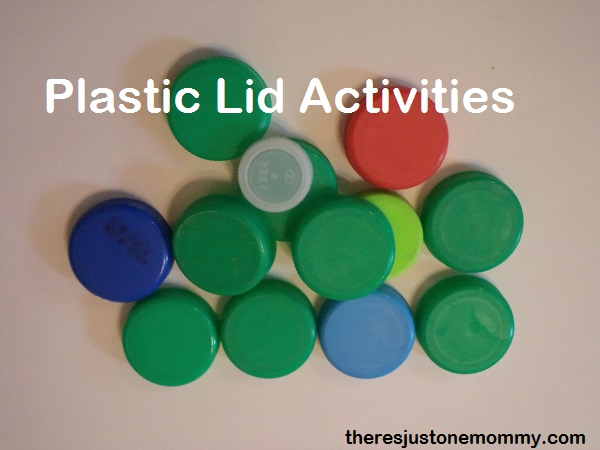plastic lid activities: ideas from some of the best mom bloggers