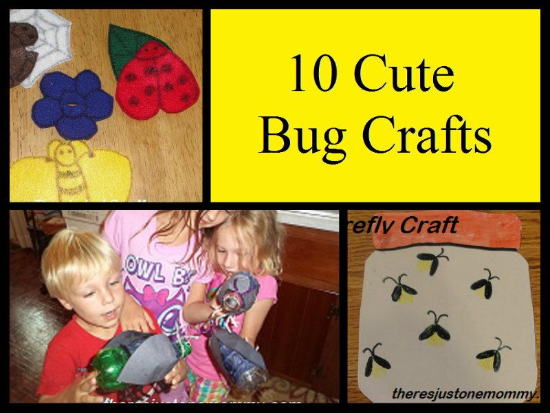 10 Cute Bug Crafts