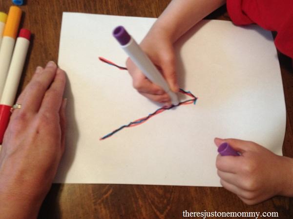 preschooler letter v activity