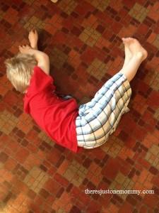 preschooler activity for V