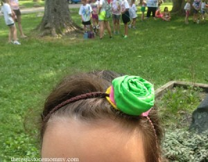 how to make a simple flower headband