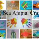 20 fun sea animal crafts for kids