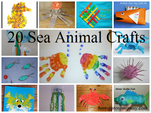 20 fun sea animal crafts for kids