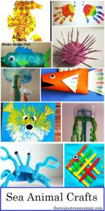 Whether you're creating a sea creature unit, or you have a child that loves ocean animals, this collection of 20+ Adorable Sea Animal Crafts for kids is the place to start.