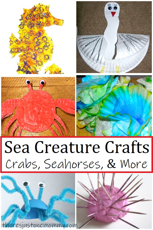 kids sea creature crafts