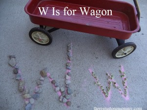 preschooler activities for the letter W