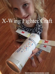 Kids Star Wars X-Wing Fighter craft