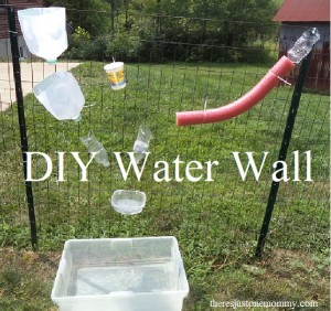 Simple directions to make your own water wall