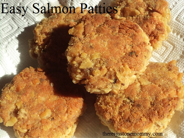 easy dinner recipe: salmon patties