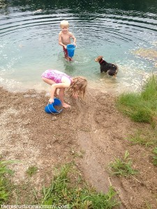 messy play: sand and water