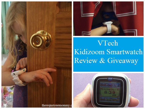 VTech Kidizoom Smartwatch Review and Giveaway