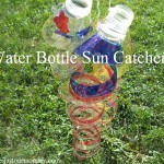 recycled craft -- how to make a recycled suncatcher