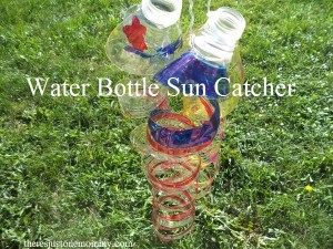 Water Bottle Craft -- Make a Sun Catcher!