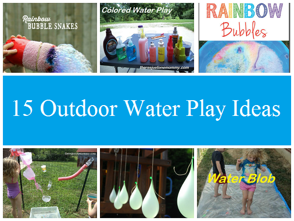 15 fun outdoor water play ideas to keep kids busy this summer
