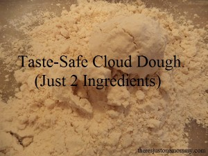 How to Make Taste-Safe Cloud Dough