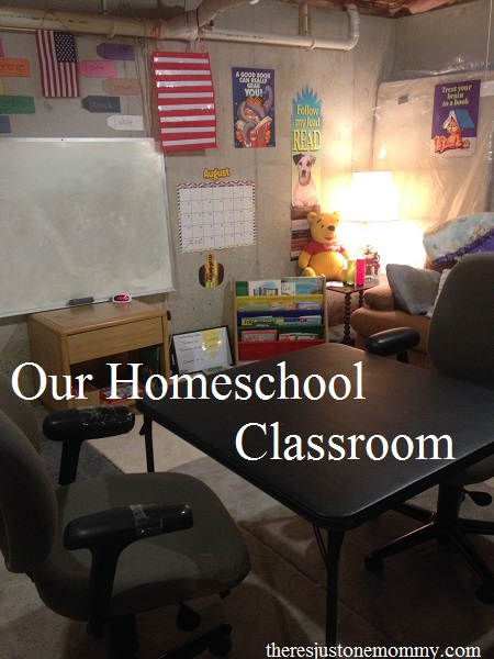 homeschool classroom setup
