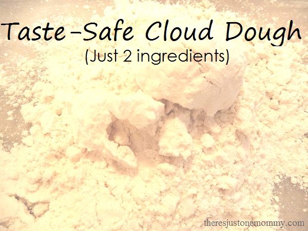 how to make taste safe cloud dough