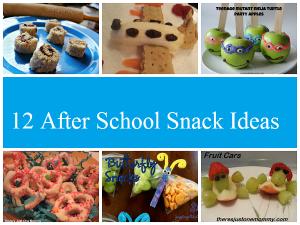 12 After School Snacks for Kids