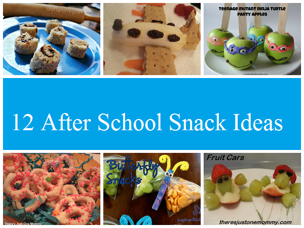 12 After School Snacks for Kids