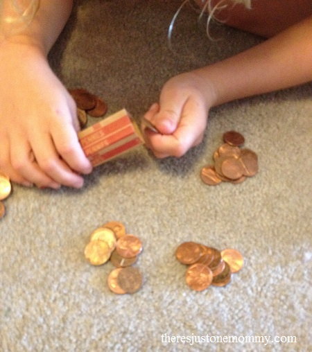 improving counting skills using pennies