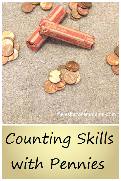 Teaching counting skills using pennies -- a simple way to teach skip counting