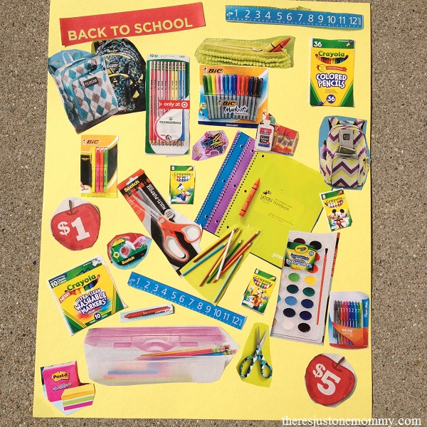 "Back to School ""I Spy"" Craft"